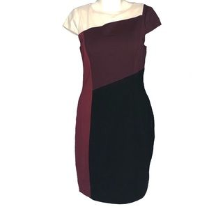 White House Black Market | 8 | Color Block Dress